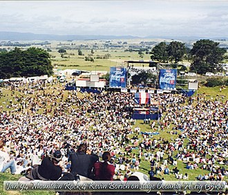 New Zealand music festivals - Image: Blue Mountain Rock Music Fest