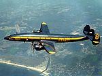 Blue Angels Lockheed C-121 in flight 1968.jpg