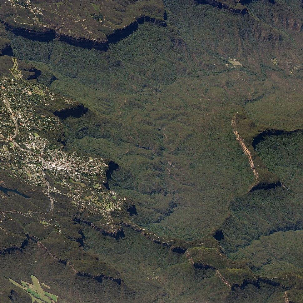 Blue Mountains Australia 17Mar2018 SkySat