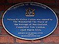 Blue plaque - geograph.org.uk - 1475584.jpg