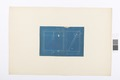 Blueprint på ventil, Hallwylska palatset - Hallwylska museet - 101077.tif