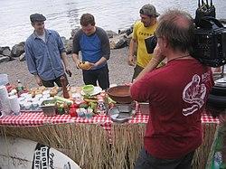 Bobby has Ben's new england clam chowder.jpg