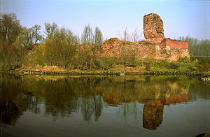 Bobrowniki - Ruins of the castle