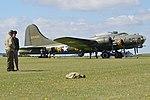 "Boeing B-17G Flying Fortress '124485 DF-A' ""Sally B Memphis Belle"" (G-BEDF) (31683798548).jpg"