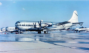 823d Air Division - Image: Boeing KC 97G Stratofreighter 53 0172 100 ARS 1964