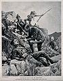 Boer War; a chaplain administering the Sacrament to a dying Wellcome V0015631ER.jpg