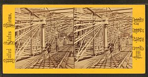 Bollman Truss Railroad Bridge - Bollman Truss Bridge At Harpers Ferry