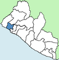 Bomi County Liberia locator.png