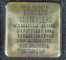 Bonn Stolperstein 60338.JPG