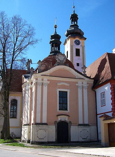 kostel Navštívení Panny Marie v Borovanech