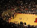 Boston College Eagles vs. University of the Pacific Tigers, First Round, NCAA Men's Basketball Tournament, Huntsman Center, University of Utah, Salt Lake City, Utah (114271884).jpg