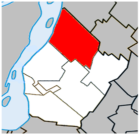 Lage in der Agglomeration Longueuil