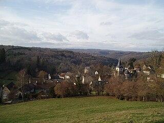 Moutier-Rozeille Commune in Nouvelle-Aquitaine, France