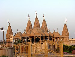 Swaminarayan temple at NH-8 Zadeshwar, Bharuch