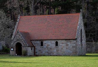 St Ninian's Chapel, Braemar - St Ninian's Chapel, Mar Lodge Estate
