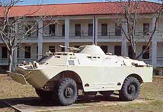 BRDM - Iraqi BRDM-2 at the U.S. National Infantry Museum, Fort Benning