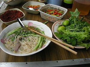 Lao noodle, Luang Prabang, Laos