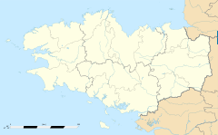Trébrivan is located in Bretanya