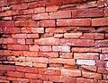 Brick wall of Goaldi mosque, Sonargaon, Narayanganj.jpg