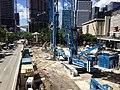 Brickell Flatiron construction site groundwork.jpg