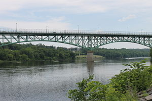 Augusta, Maine - Image: Bridge across the Kennebec, Augusta, ME IMG 2051