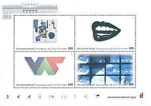 Documenta X - Stamp Documenta X 1997