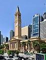 Brisbane City Hall, 275 George Street, Brisbane, Feb 2020.jpg