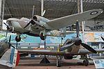Bristol Bolingbroke IVT '10038 - XD-A' (really 9895), with Hurricane IIc 'LF345' (34489593331).jpg