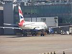 British Airways Airbus A320-232 G-TTOE at LHR 07JUN2015.JPG