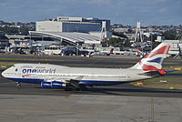 G-CIVP - B744 - British Airways
