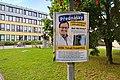 Brno, Makovského náměstí, plakát Tomáše Tomáše (KDU-ČSL) před senátními volbami 2020 (17.15.08).jpg
