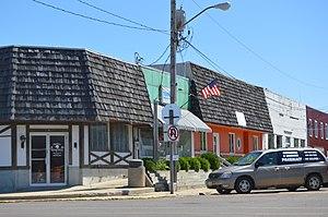 Roanoke, Illinois - Broad Street downtown