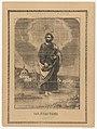 Broadsheet depicting Saint Judas Thaddeus MET DP869182.jpg