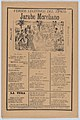 Broadsheet with songs for a Mexican courtship dance called the 'Jarabe Moreliano', a crowd of people and muscians MET DP874521.jpg