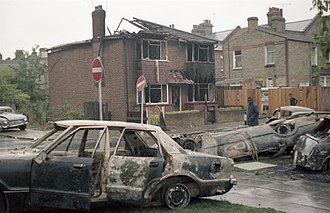 Broadwater Farm riot - Broadwater Farm riot: the next day