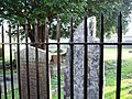 Broken tombstone, Shepton Mallet, Church of St Peter and St Paul - geograph.org.uk - 378425.jpg