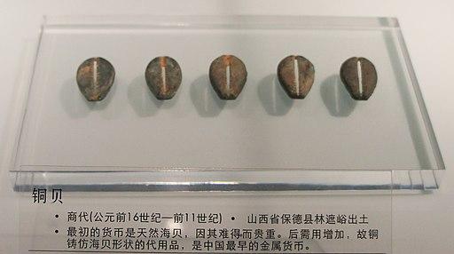 Bronze cowries
