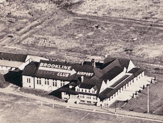 Havertown, Pennsylvania - Brookline Country Club and Airport