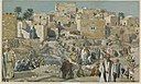 Brooklyn Museum - He Went Through the Villages on the Way to Jerusalem (Il allait par les villages en route pour Jérusalem) - James Tissot - overall.jpg