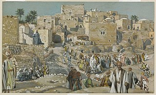 He Went Through the Villages on the Way to Jerusalem