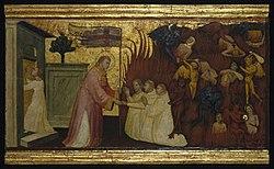 Lorenzo di Niccolò: Saint Lawrence Liberates Souls from Purgatory