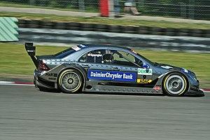 Bruno Spengler - Spengler driving for Mercedes-Benz in the 2006 Deutsche Tourenwagen Masters season.