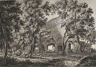 Albert Christoph Dies - Illustration from Collection de vues pittoresques de l'Italie