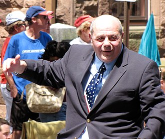 Bristol Fourth of July Parade - Buddy Cianci returned after serving his jail sentence to march again in the 2009 parade