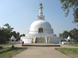 Vaishali district - The Budha Stupa in Vaishali.
