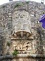 Budva Stadtmauer - Bastion am Hafen 2.jpg