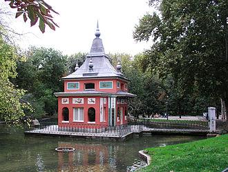 Parque del Buen Retiro, Madrid - Casita del Pescador