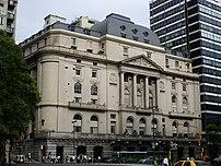 {{es Edificio de la Bolsa de Comercio de Bueno...
