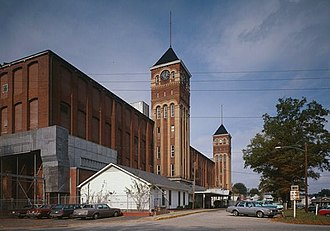 National Register of Historic Places listings in Union County, South Carolina - Image: Buffalo Cotton Textile Mill, Mill Building, SC Route 215, Buffalo (Union County, South Carolina)