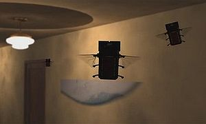 Micro air vehicle - Image: Bug Sized Spies, US air force